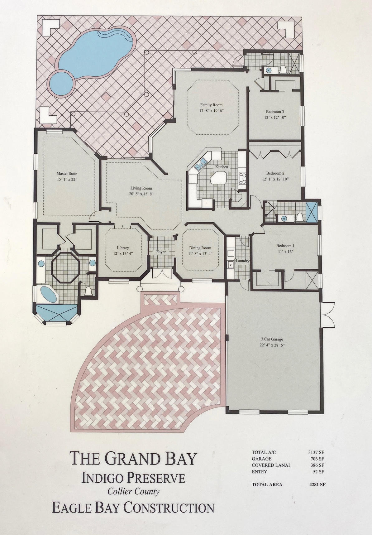 Floorplan illustration Naples