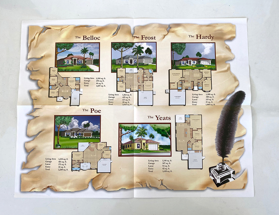 Real estate brochure printing Naples